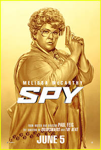 Melissa McCarthy Brings Major Laughs With New 'Spy' Poster & Trailer!